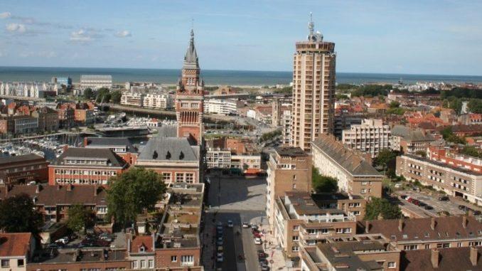 Ville De Dunkerque Vue Aérienne
