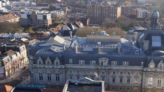 Ville De Tourcoing Vue Aérienne Mairie Et Batiments