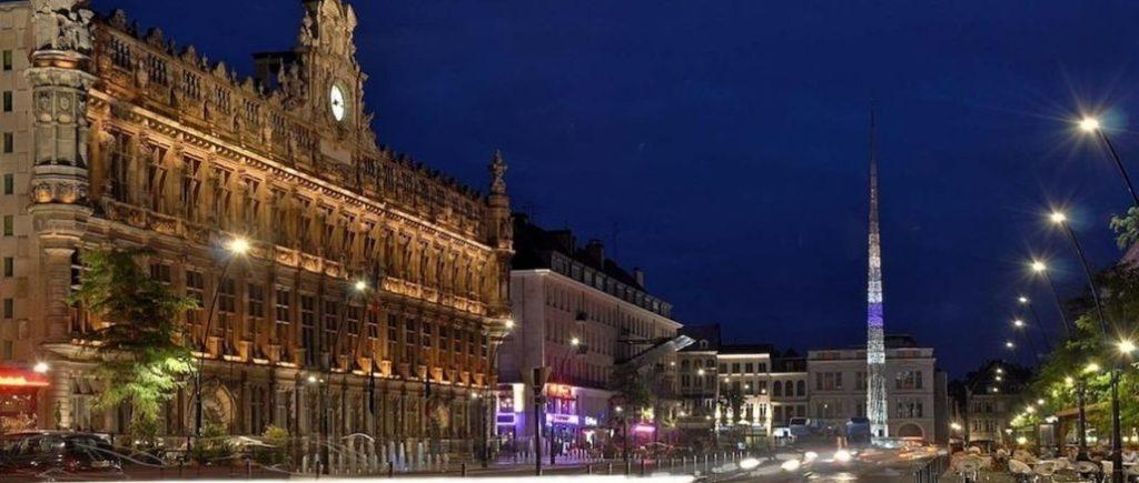 Ville De Valenciennes De Nuit